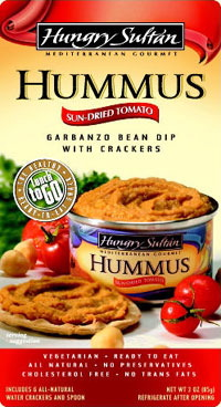 Hungry Sultan Sun Dried Tomato Hummus Snack Meal